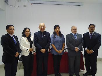 Junta Directiva de la Sociedad Peruana de Radioprotección