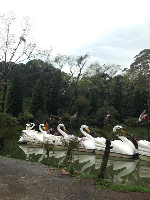 Parque do Lago Negro em Gramado