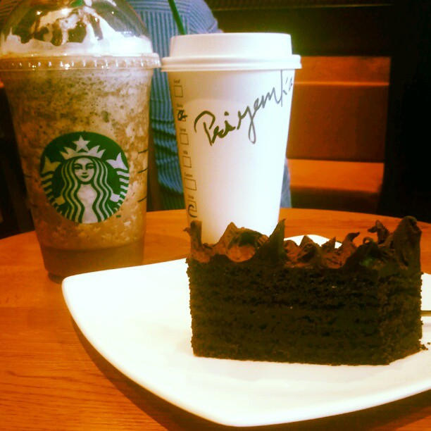 Java Chip Frappuccino, Cappuccino and Chocolate Truffle