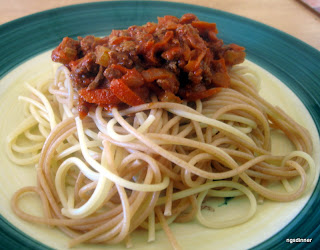 Spaghetti Bolognese by ng @ What's for Dinner