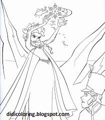 Free Printable Walt Disney Characters Elsa Coloring For KidsQueen In Anger Movie Character Page Girls