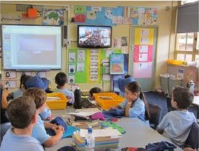Smithfield Public Schools Connect with Jasper Road Public School by Brainwaves