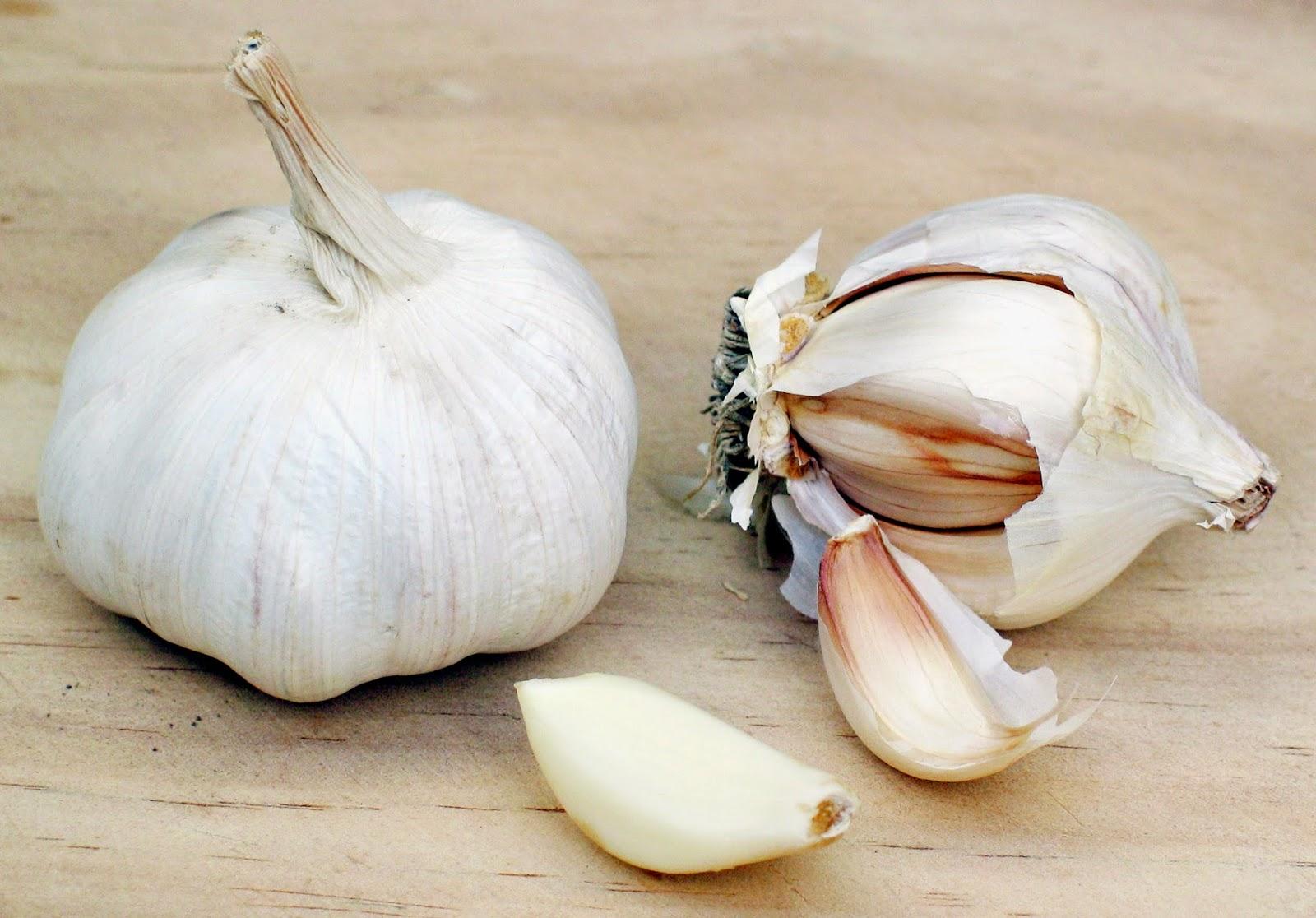 Eat more garlic