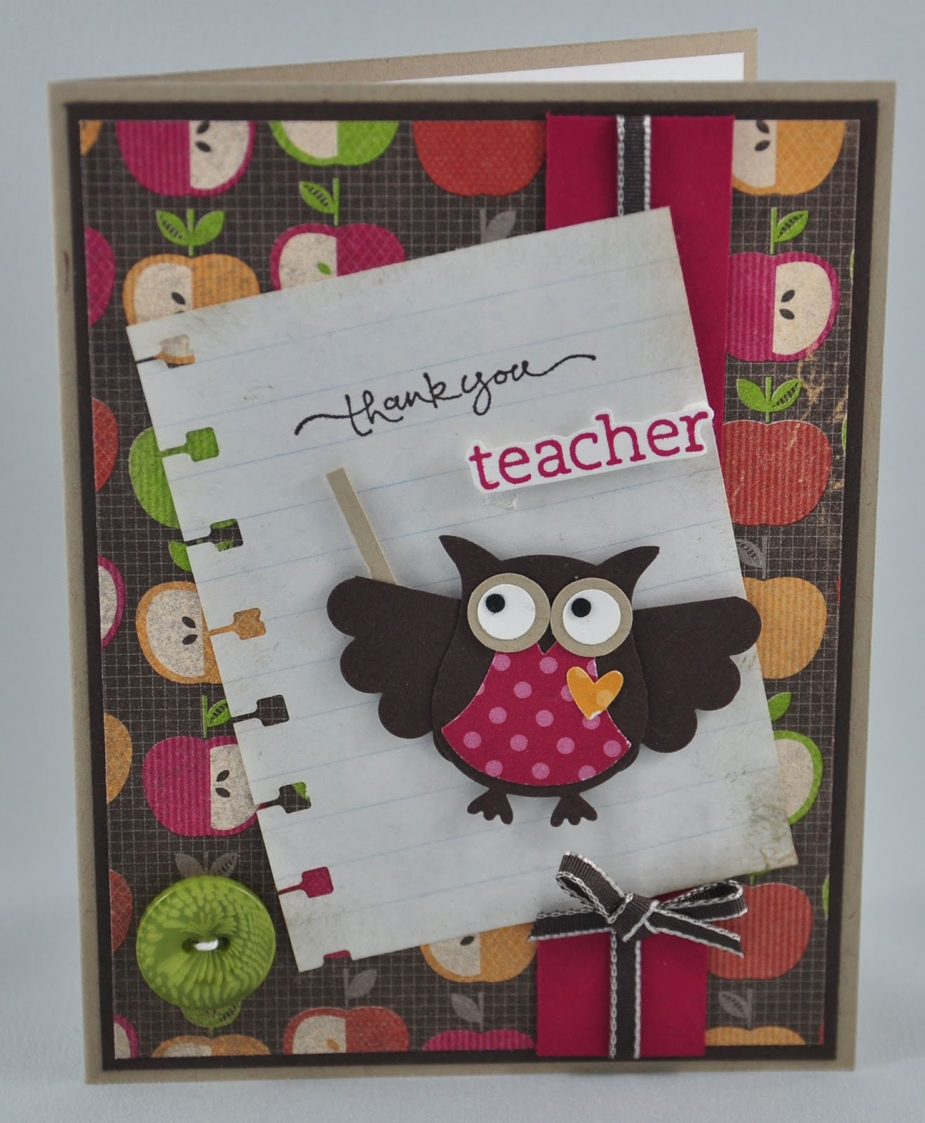 Snippets by design thank you cards for teachers for Thank you crafts for teachers