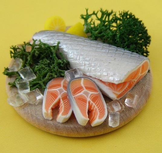 fish sliced, still life,shay aaron
