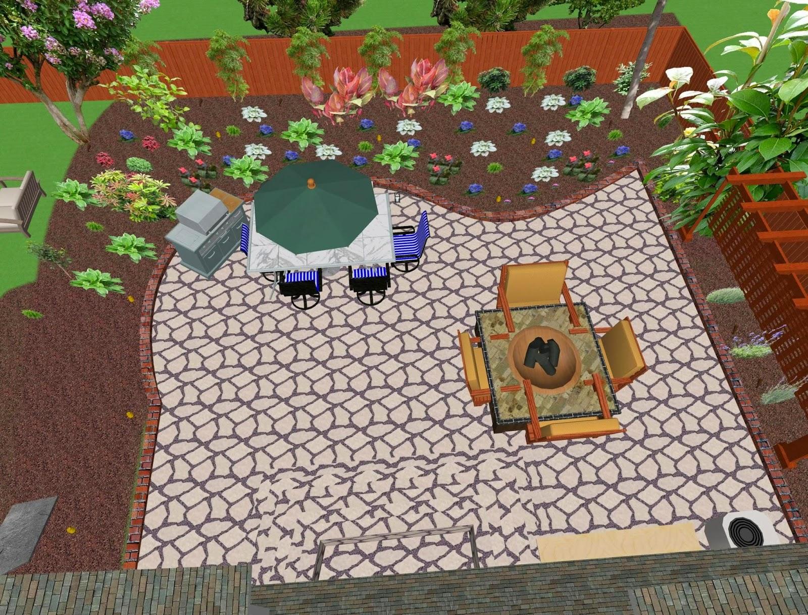 Simple Backyard Landscaping Ideas Landscape Design Zimbio