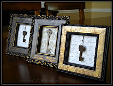 Easy DIY Framed Keys made with Jewelry Pieces