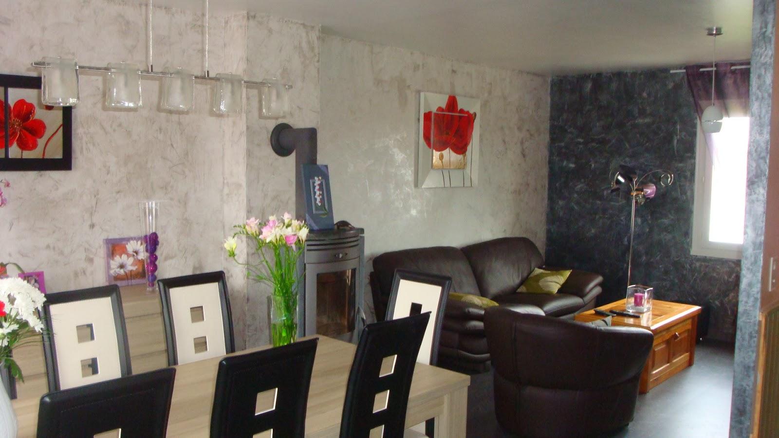 Michel le coz agencement d coration enduit d coratif s jour for Enduit decoratif cuisine
