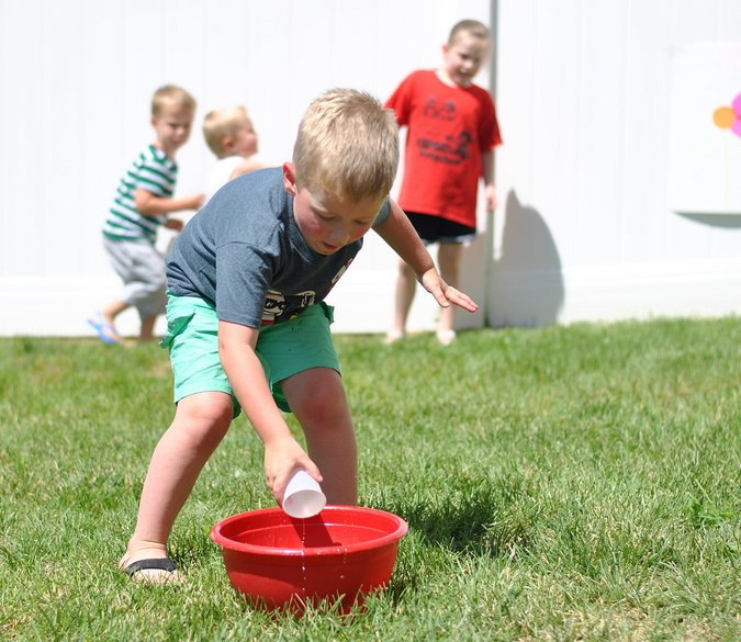 fun outdoor water games
