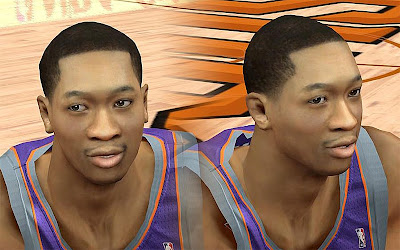 NBA 2K13 Wesley Johnson Cyberface Patch