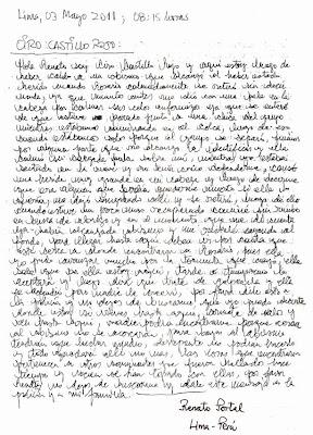la carta de ciro castillo psicografia renato portal acusa a rosario de pegarle con pala y abandonarlo