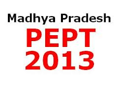Madhya Pradesh Pre-Engineering, Pharmacy Test (PEPT)- 2013