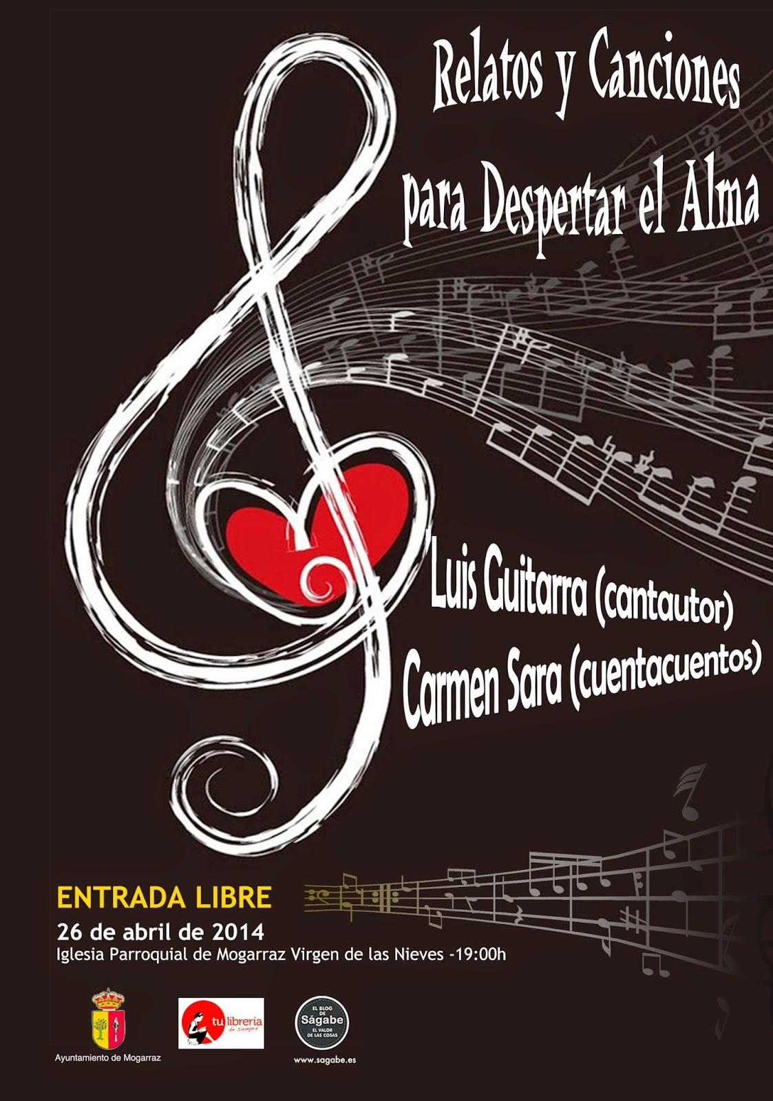 26/Abril. Concierto de Luis Guitarra y Carmen Sara. Mogarraz