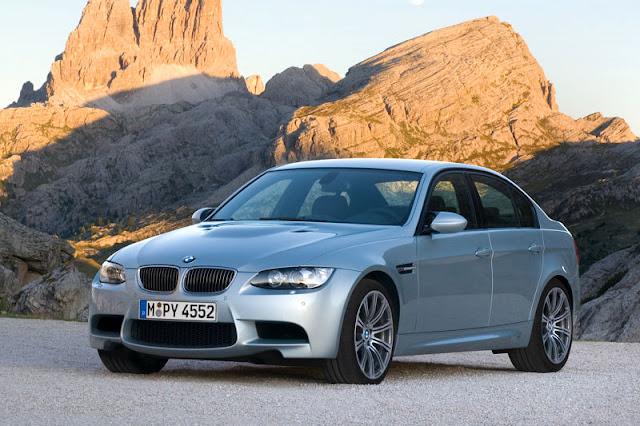 2008 BMW M3 Sedan Front Exterior