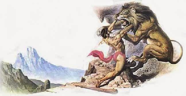 MITOLOGÍA PARA NIÑOS: Hércules y el león de Nemea, el primero de los ...