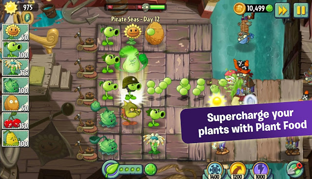 Plants vs Zombies 2 V4.1.1 MOD Apk+Data