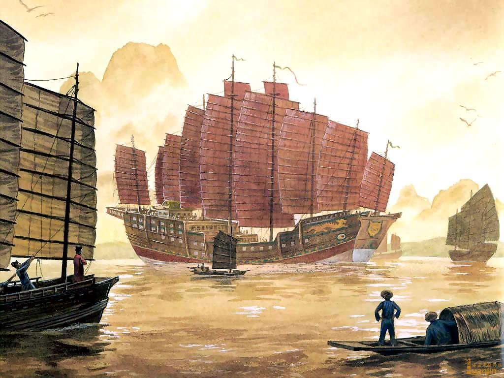 ผลการค้นหารูปภาพสำหรับ เรือสำเภาจีน