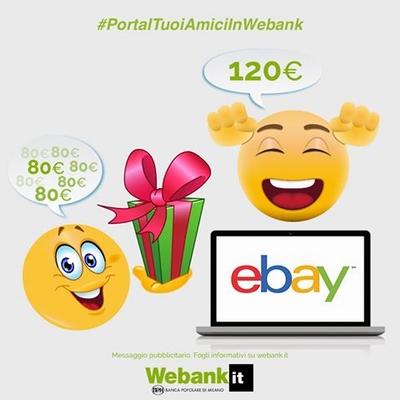 € 120 BUONI eBAY