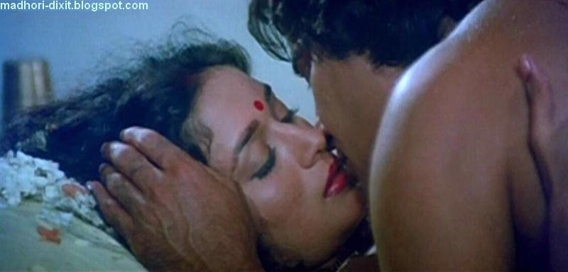 Madhuri dixit kissing scene