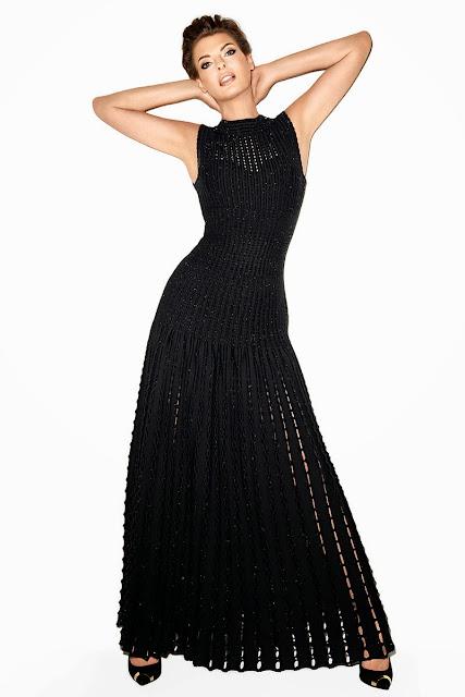 dress by Azzedine Alaïa