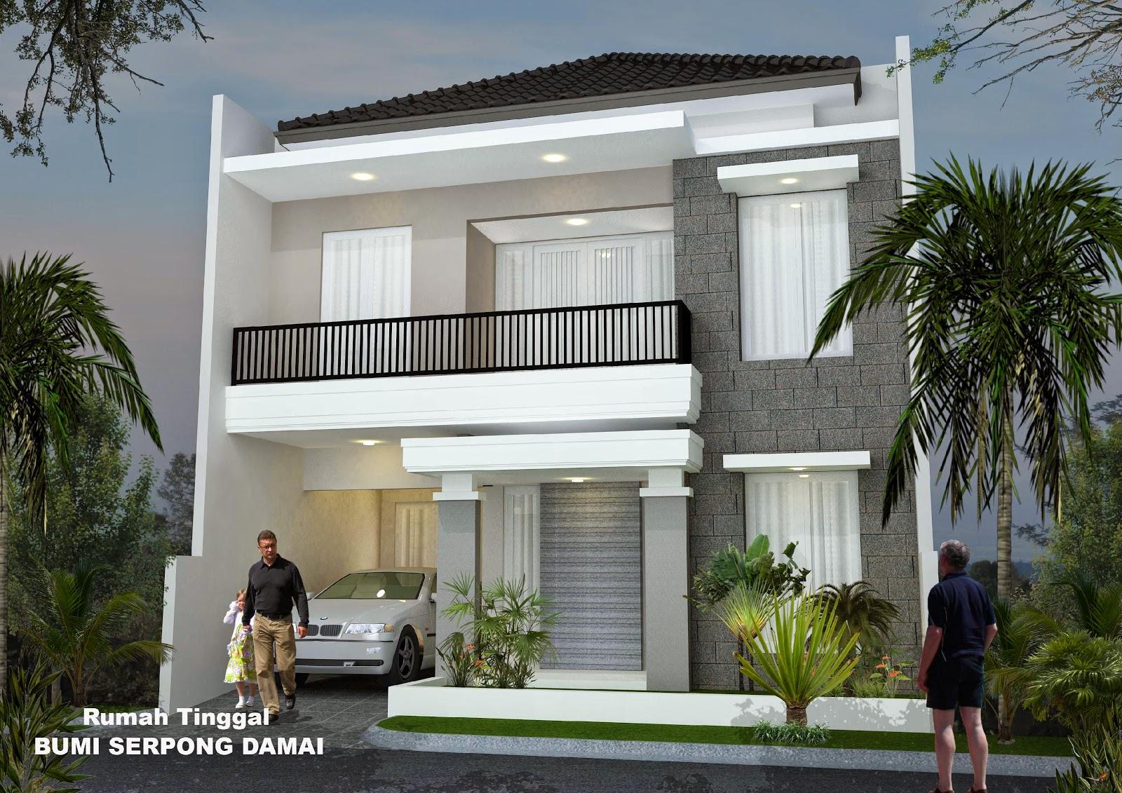 rumah tingkat minimalis design rumah minimalis