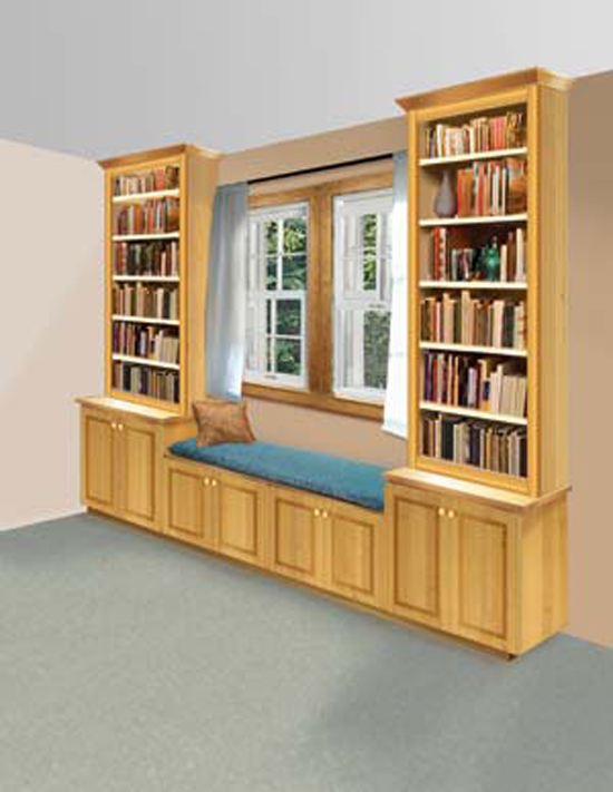 Little learning spaces a diy book nook preschool powol for Build your own window