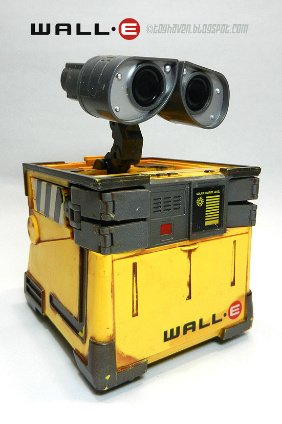 Wall E Toys : Toyhaven thinkway toys transforming wall∙e robot figure