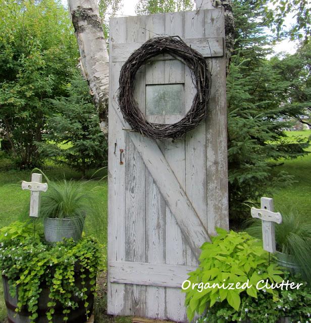 Junk Garden Barn Door