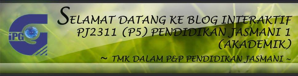 PJ2311 PJ 1 (Akademik) - TMK Dalam P&P PJ