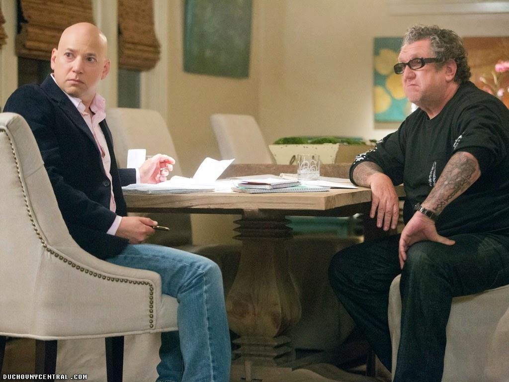 Evan Hanlder as Runkle and Steve Jones as Krull Californication 7x07