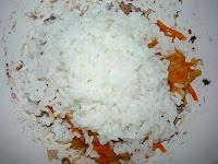 добавить в фарш вареный рис