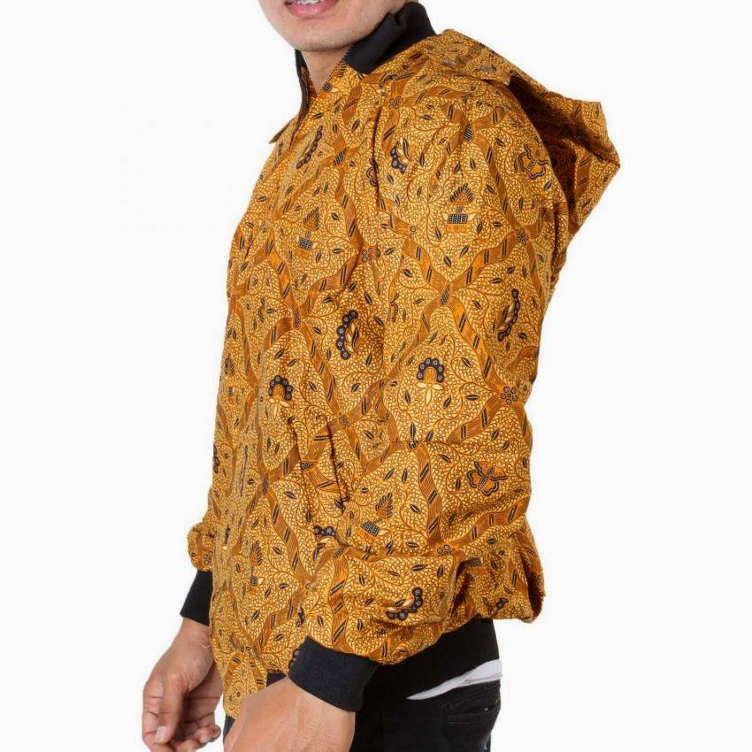 jaket batik, batik hoodie
