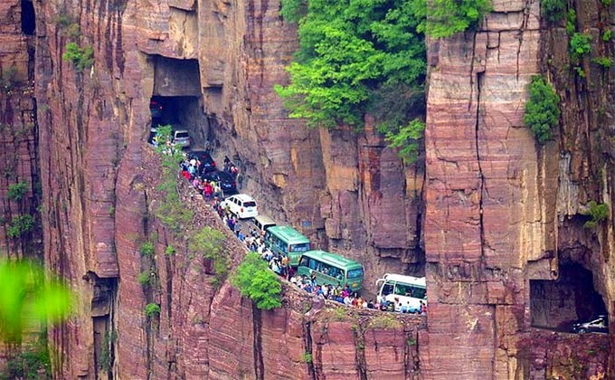 Guoliang tunnel of China- Word's most dangerous tunnel