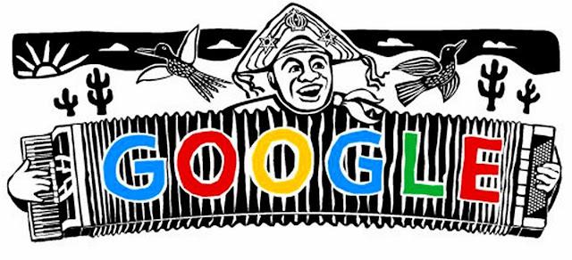 LUIZ GONZAGA - GOOGLE DOODLE EM HOMENAGEM AO CENTENÁRIO - 13 12 2012