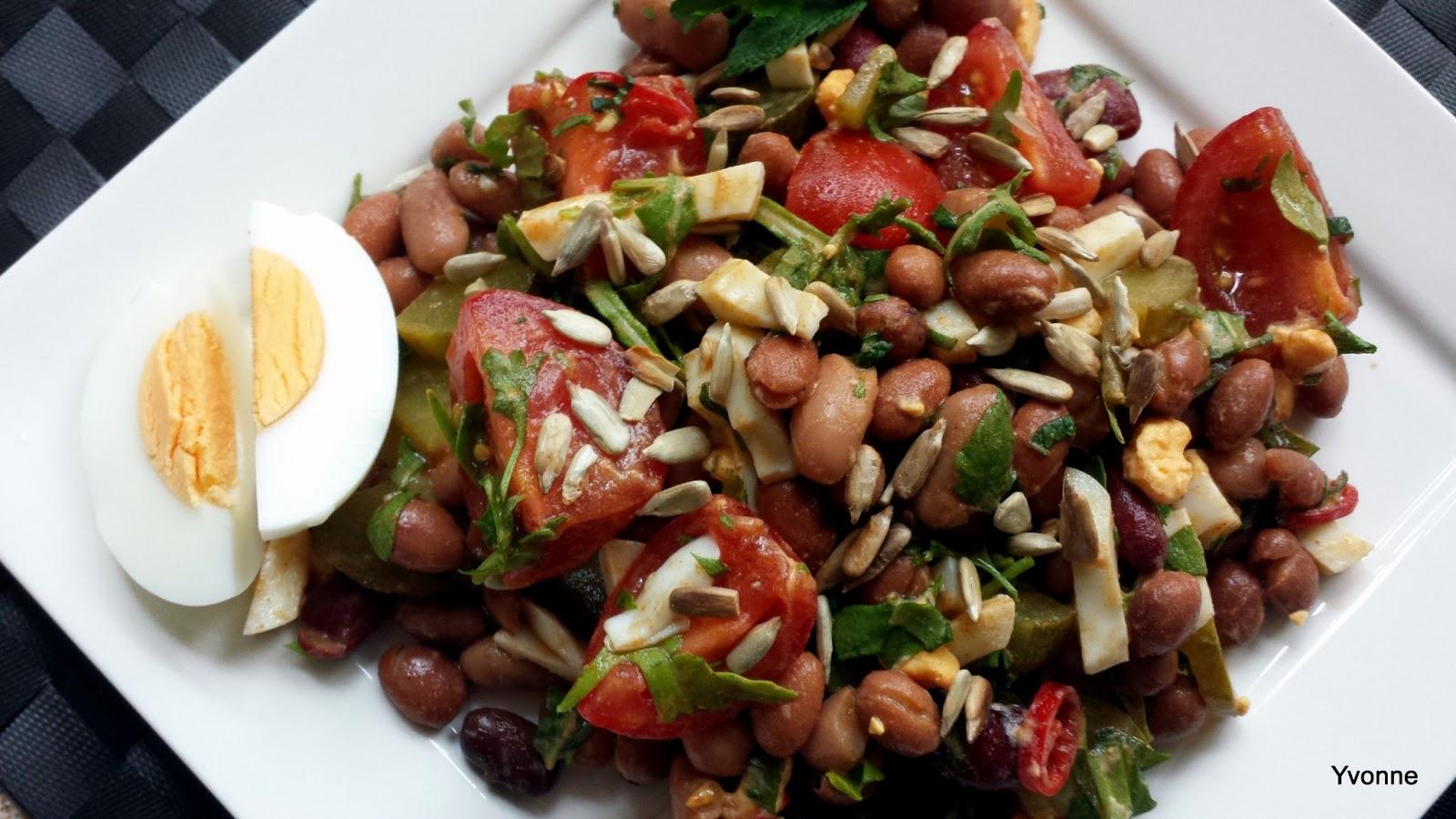 bruine bonen salade