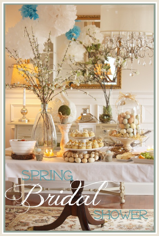 bridal showers are such a special event in a young womans life this past weekend abigail my soon to be daughter in law love was the guest of honor at a