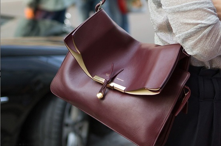 Guida ai trend A/I '12 Pelle Lunghezze Maxi Bordeaux Peplo Borchiato Tessuto scozzese le gille