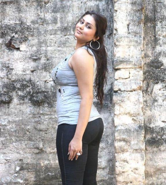 Namitha in half saree