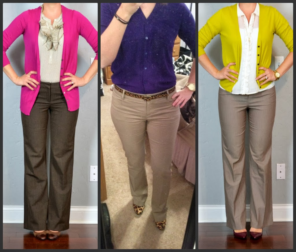express editor, columnist, dress pants, work pants