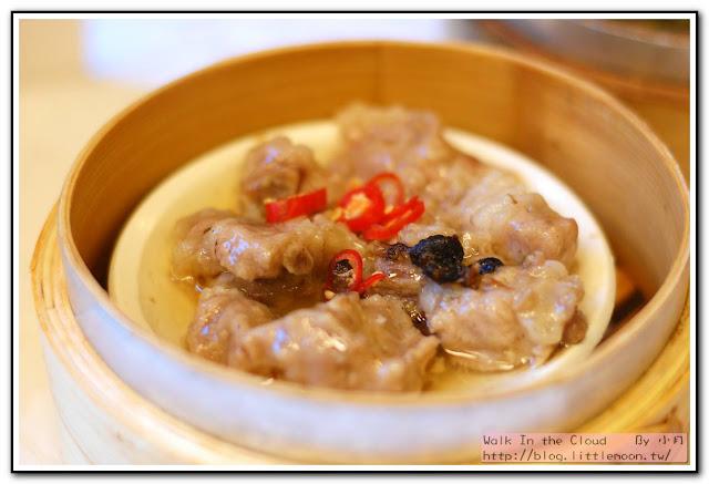 明宮粵菜廳 - 鼓汁蒸排骨
