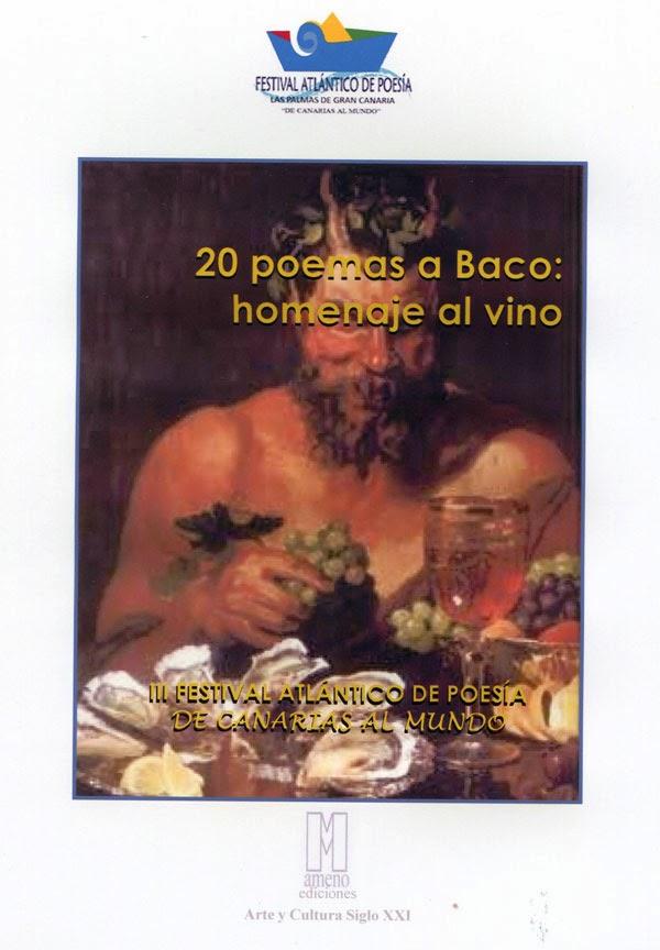 20 poemas a Baco: Homenaje al vino( Mi poema: CATA)