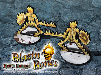 Blazin' Bones Front and Back