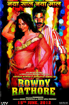 Watch Rowdy Rathore 2012 Hindi Movie Online | Rowdy Rathore 2012 Hindi Movie Poster