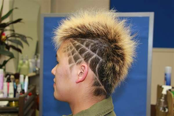 Unbelievable Hair Tattoos From Japan The HairCut Web