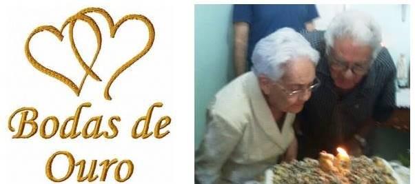 Portal de juazeiro bodas de ouro do casal jos calixto e - Regalos 50 anos de casados ...