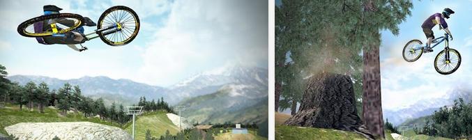 Shred! Extreme Mountain Biking - Game Sepeda Terbaik Android