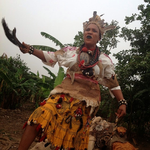 fathia balogun warrior movie