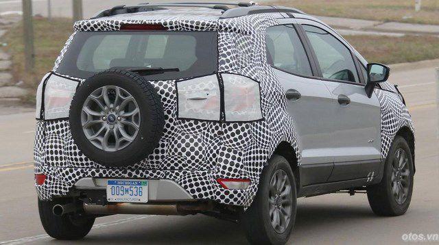 Xe Ford EcoSport 2017 lộ ảnh nóng chạy thử