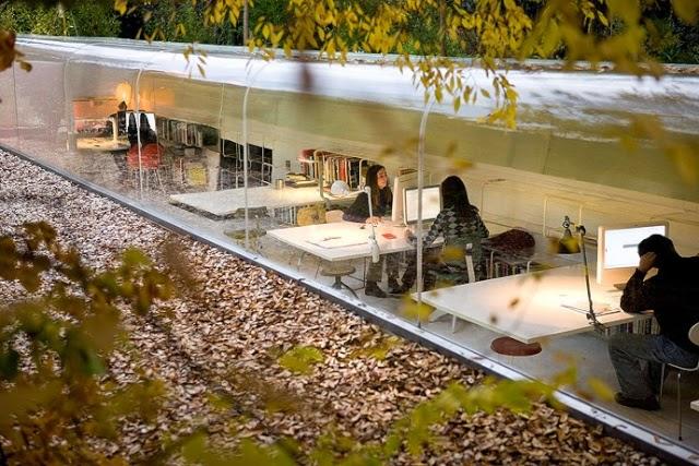 Les plus beaux bureaux du monde google à zurich paper