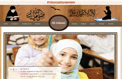 Al-Islamic Blogger Template